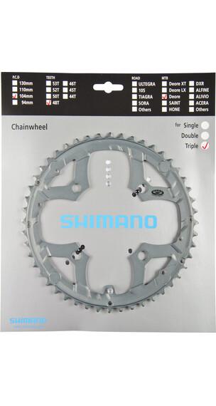 Shimano Deore FC-M591 Zębatka rowerowa szary